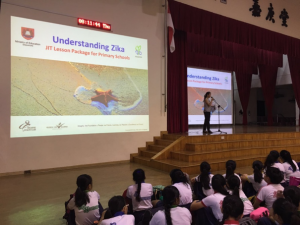 Assembly talk on Zika prevention